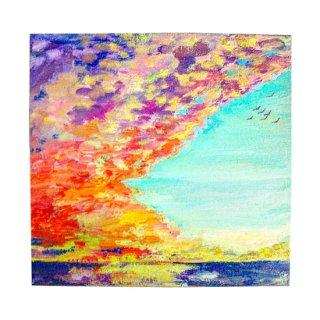 受注制作 『空と海の絵』アートジークレー