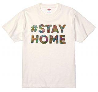 【チャリティ】#STAY HOME フォントTシャツ