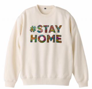 【チャリティ】#STAY HOME フォントスウェット