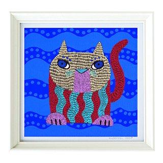 複製画「猫のボー」
