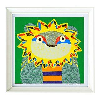 複製画「ライオンのポルボラ」