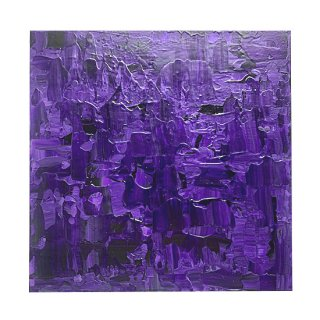 ABSTRACT EXPRESSIONISM VIOLET(M)
