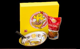 お皿とカレー540gセット(冷蔵)