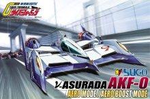 No.12 1/24 νアスラーダAKF-0 エアロモード/エアロブーストモード