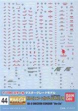 No.44 1/100 MG ユニコーンガンダム Ver.Ka用 ガンダムデカール