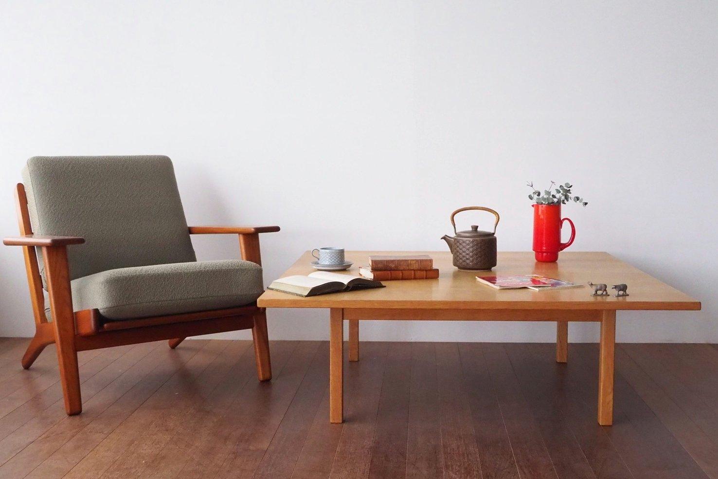 ハンス・J・ウェグナー コーヒーテーブル  【6150-59】