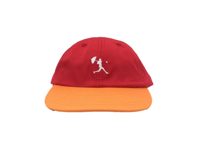 HELAS / BALLER CAP RED & ORANGE