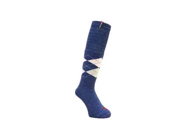 10/1 TUBE ARGYLE SOCKS NAVY