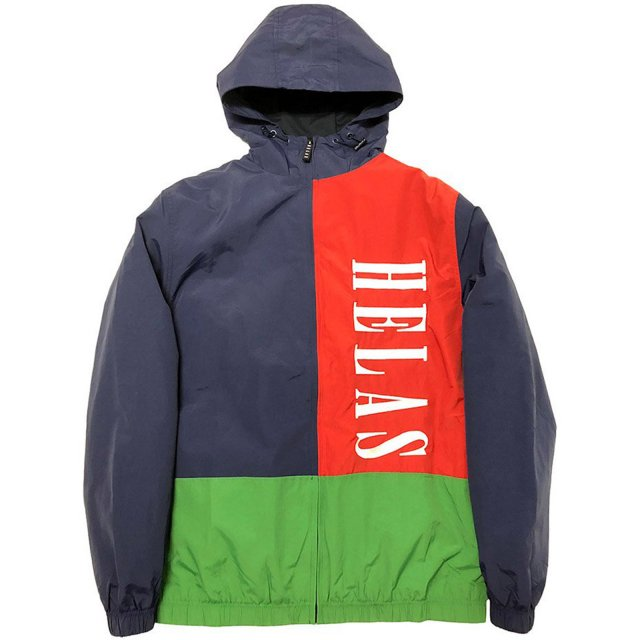 HELAS / SUSPENCE HOODED JACKET NAVY