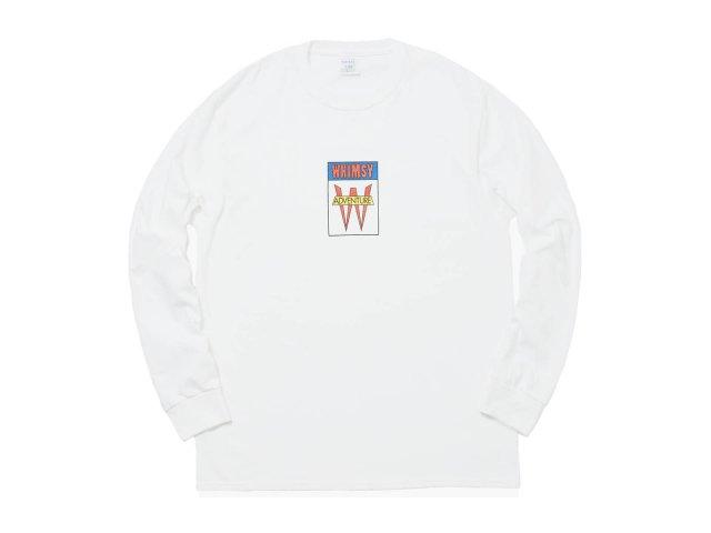 ADVENTURE L/S TEE WHITE