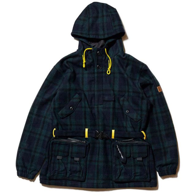 HELLRAZOR x DOWN NORTH CAMP / BLACKWATCH M65 PULLOVER JACKET BLACKWATCH