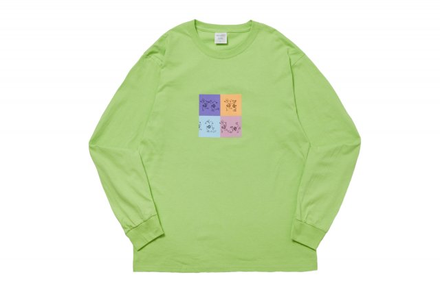 PLUG IT IN L/S TEE LIME