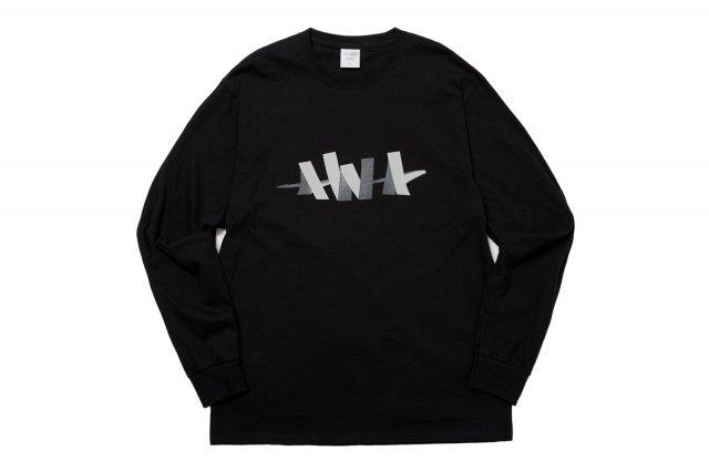 W L/S TEE BLACK
