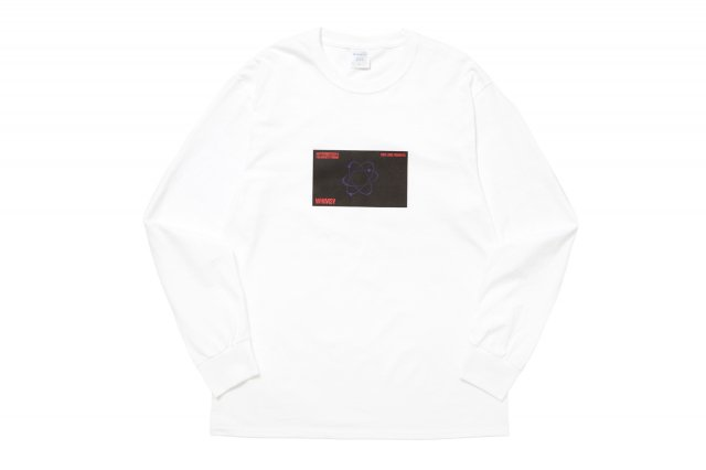 SIX STAR L/S TEE WHITE