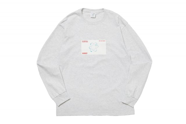 SIX STAR L/S TEE ASH GREY