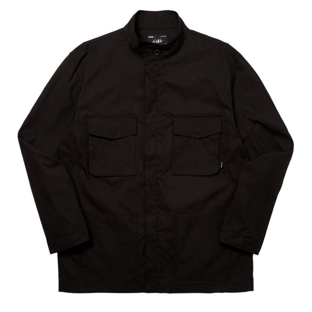 UTILITY BDU JACKET BLACK