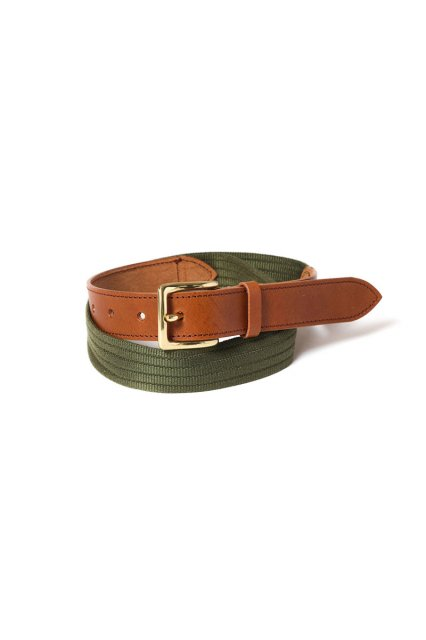 RAJABROOKE / PINGGANG BELT BROWN & OLIVE