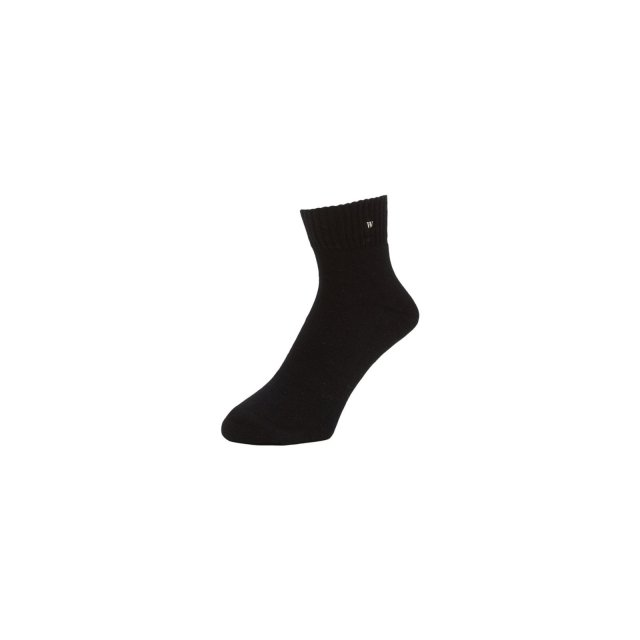 WHIMSY / VERSE HEADS SOCKS BLACK