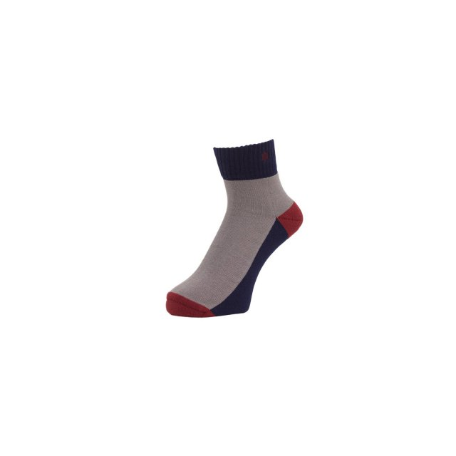 WHIMSY / VERSE HEADS SOCKS NAVY