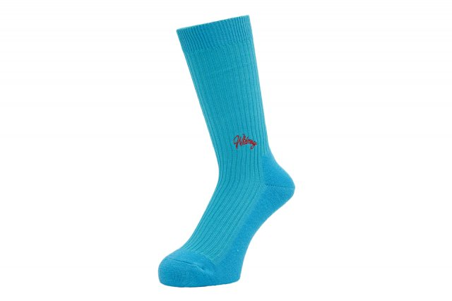 WHIMSY / EMJAY SOCKS LIGHT BLUE