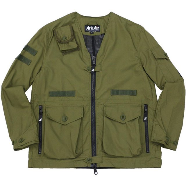 ARK AIR / LIGHTWEIGHT TRAFFIC JACKET TROPICAL GREEN