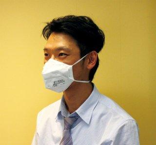 使い捨て式防じんマスク(10個入)