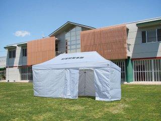 防災テント 天幕3.6×6.0m ホワイト