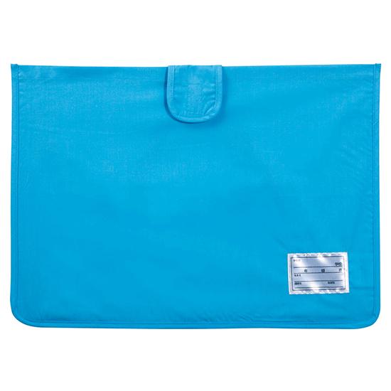 防災ずきん用カバー ブルー49