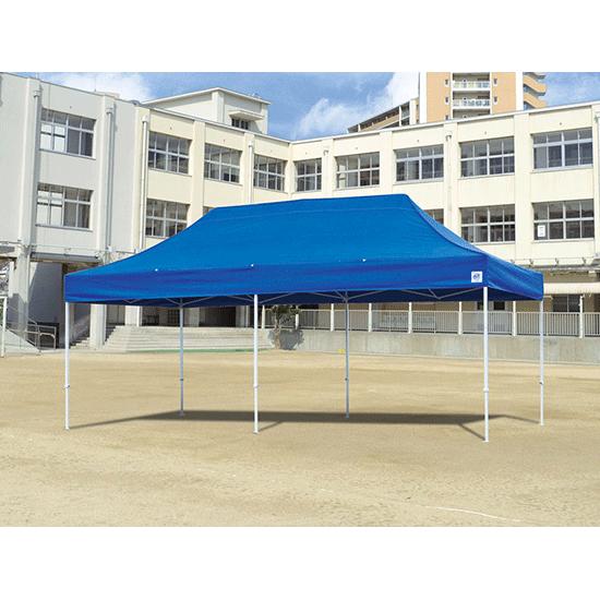 イージーアップテント デラックス 3×6m スチール製