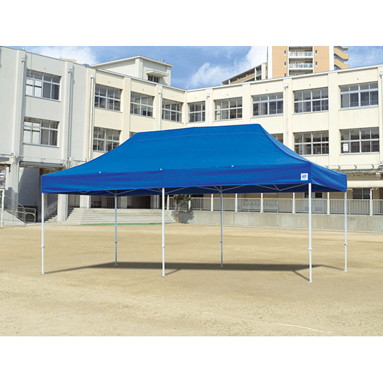 イージーアップテント デラックス 3×6m アルミ製