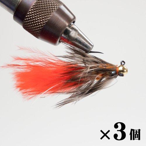 サイドフラッシュバガー#10 ホットオレンジ×3