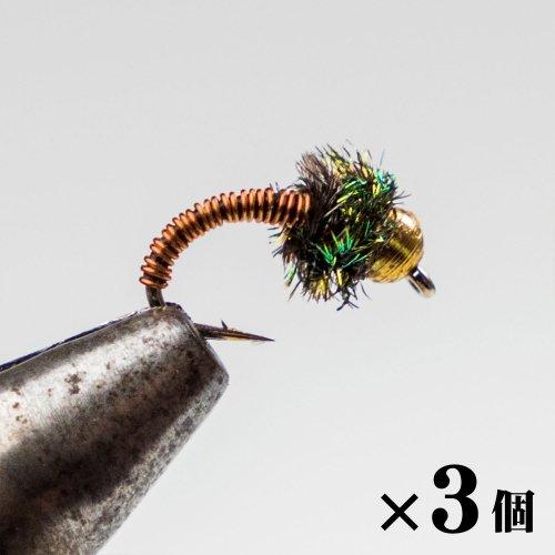 ビーズヘッドブラッシー×3 (G-4)