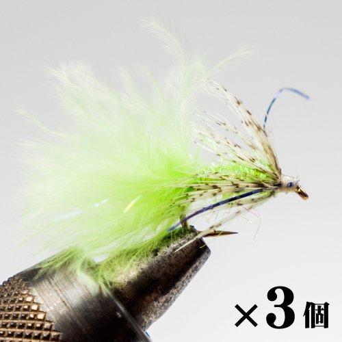パートリッジ&グリーンマラブー×3 (G-8)