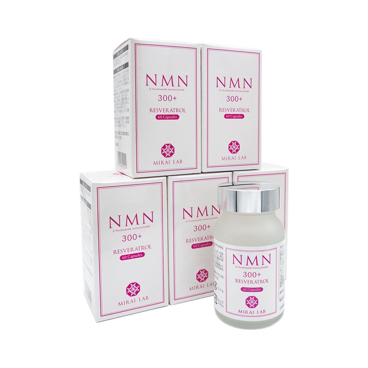 NMN+レスベラトロール (60カプセル) 6個セット ※特許取得済