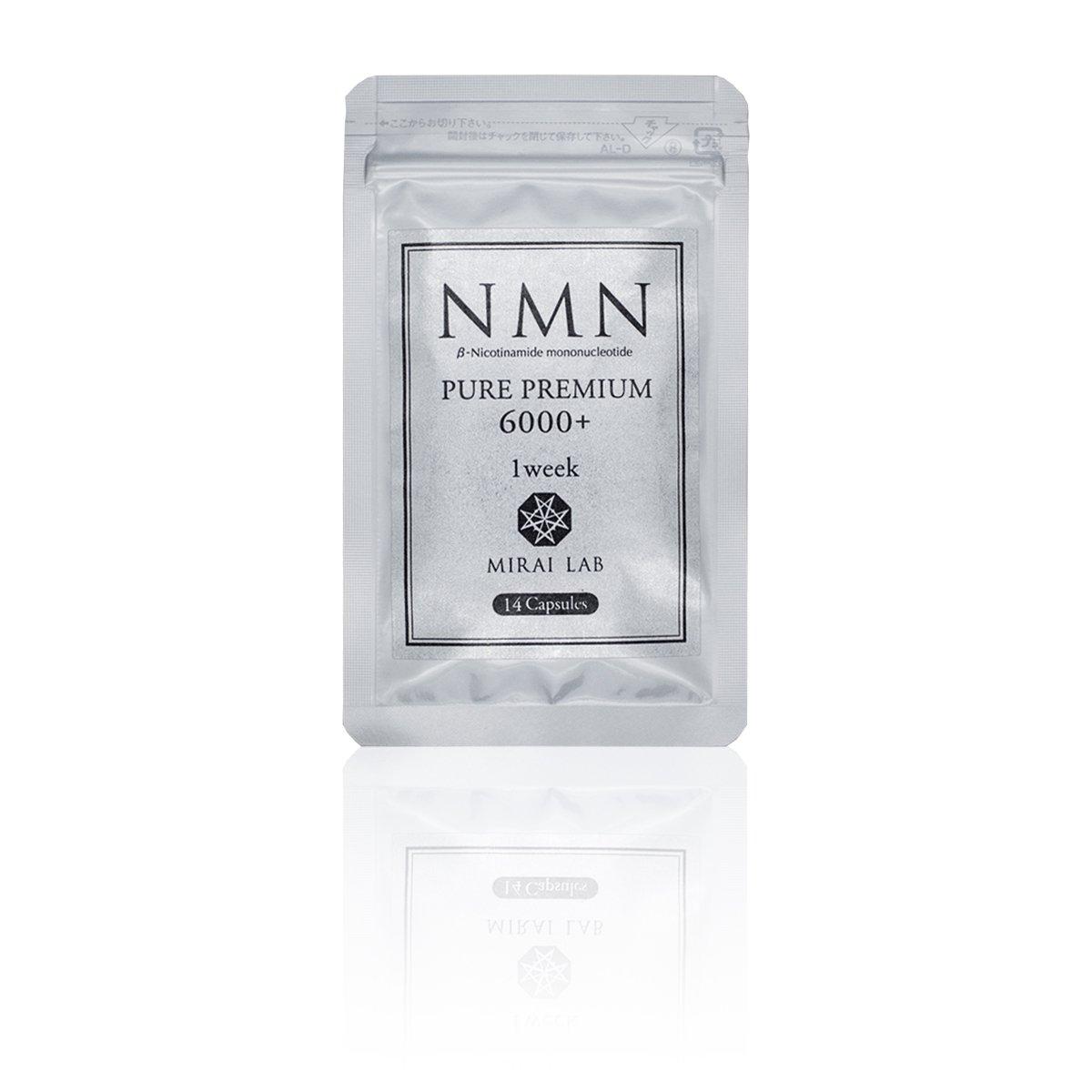 NMNピュアPREMIUM6000プラス1week