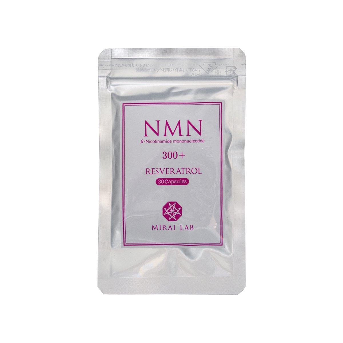 NMN+レスベラトロール (30カプセル) ※特許取得済