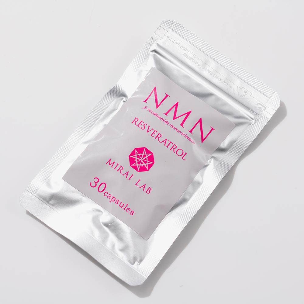 NMN+レスベラトロール (30カプセル)