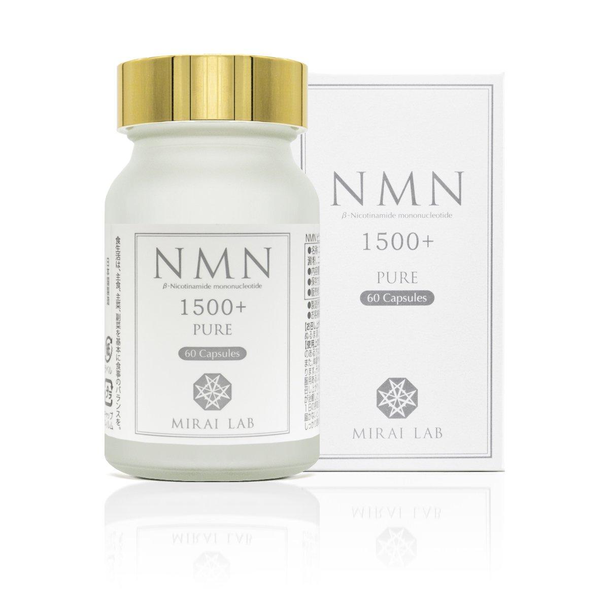 NMN ピュア 1500 プラス(60カプセル)