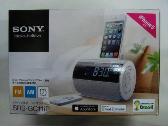88915c1998 SONY ソニー iPod/iPhone用ドックスピーカー SRS-GC11IP - 川崎で不用品 ...