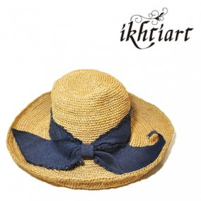 ABACA/JUTE RIBBON HAT