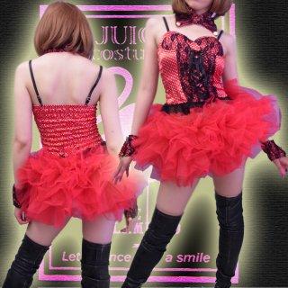 ボリューミーなボワッとチュチュパニエ☆ミニスカート♪ダンサー、バーレスク衣装