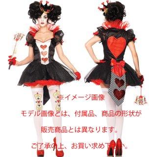 カワイイ♪アリスモチーフのハートデザイン!コスチュームドレス☆真っ赤な手袋&Tバックショーツ