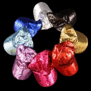 ダンス衣装 スパンコールキャップ 帽子 カラー全8色