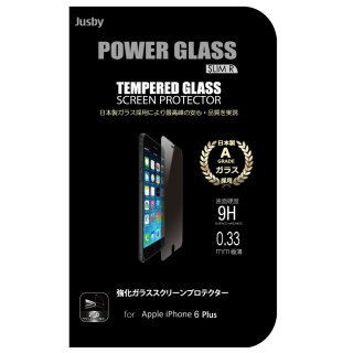 POWERGLASS �������饹 (iPhone6plus��5.5�����)