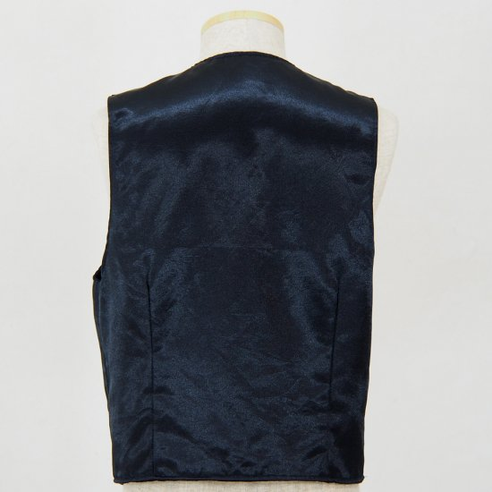 Engineered GarmentsReversible VestWool ElastiqueDk.Navy