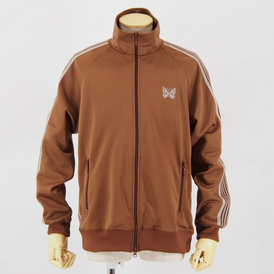 NeedlesTrack JacketPoly SmoothBrown