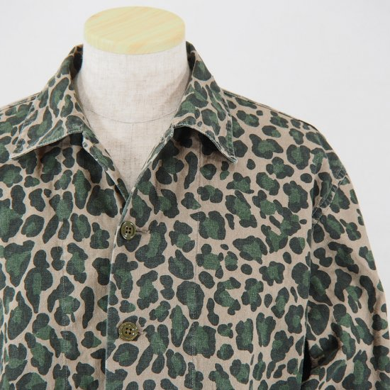 NeedlesBush JacketC/L CanvasCamouflage PrintLeopard Camo