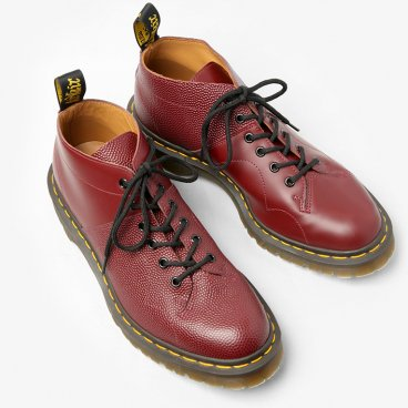 Engineered GarmentsSpecial - Church Lace Low BootScotch Grain ComboBurgundy