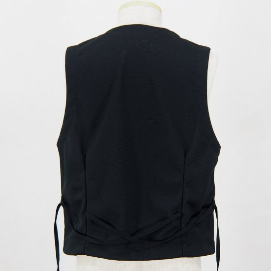 Engineered GarmentsKnit VestDiamond KnitBlack