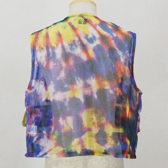 South2 West8Mesh Bush VestPoly MeshTie Dye
